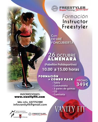 Formación Instructor Freestyler 26 de octubre 2019