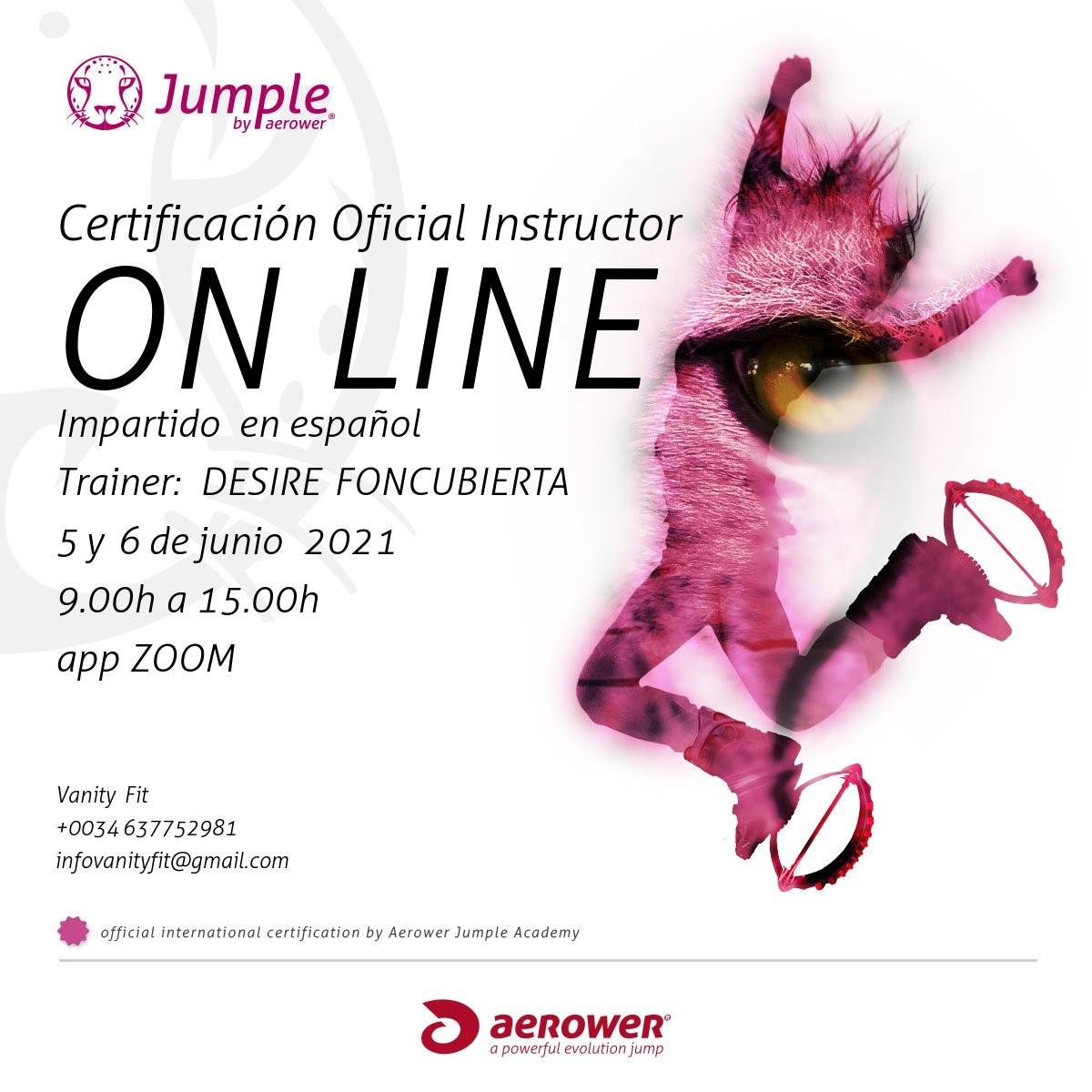 formacion instructor jumple aerower